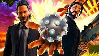 John Wick vs The Lord Death Which Skin Is Better? (FORTNITE)