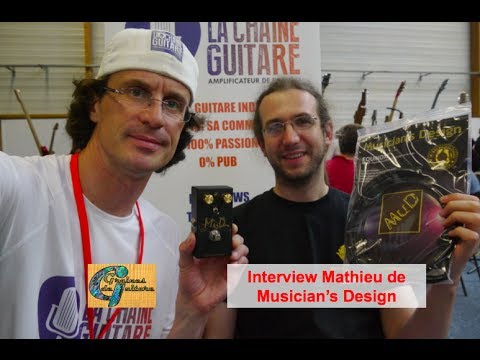 Interview de Mathieu de Musician's Design