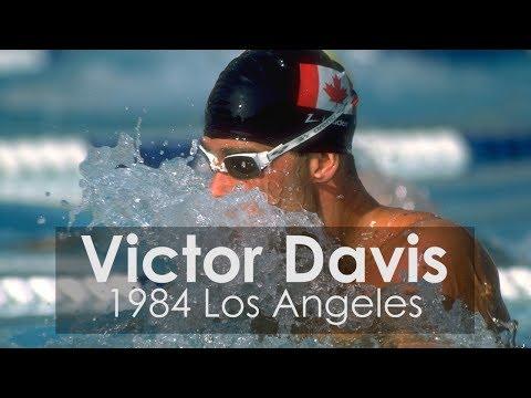 Victor Davis Sets WR in 1984 Men's 200M Breaststroke