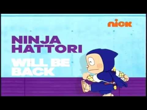 Nickelodeon India - Ninja Hattori show bumpers