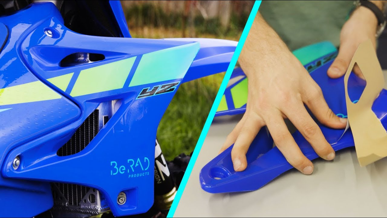 How to Install Dirtbike Graphics the Easy Way! - how they're made