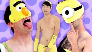 The Try Guys Try Childhood-Ruining Costumes