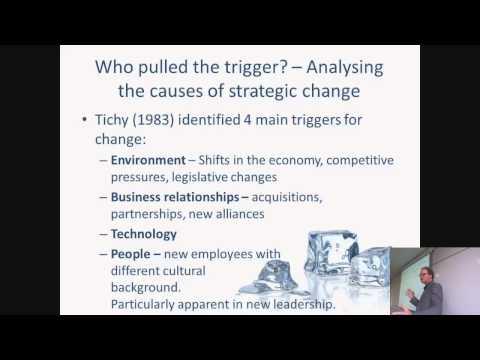 Strategic Change Management: Organisational aspects