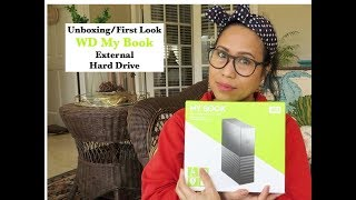 Review/Unboxing of Western Digital My Book External HardDrive