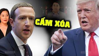"""Trump """"ra tay"""" với mạng xã hội kiểm duyệt người dùng"""