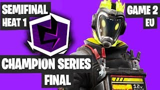 Fortnite Champion Series Final Highlights - Semifinal Europe Heat 1 Game 2