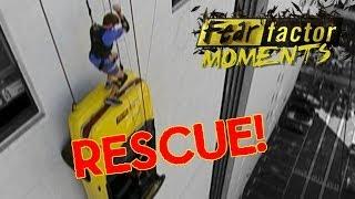 Fear Factor Moments | Car Drop Rescue