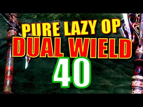 Skyrim Pure Lazy OP Dual Wield Walkthrough Part 40: Beat Down on Bleak Falls thumbnail