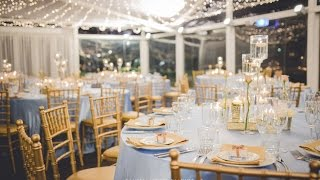 Powder Blue + Gold Wedding, styled by Enchanted Empire, Event Artisans