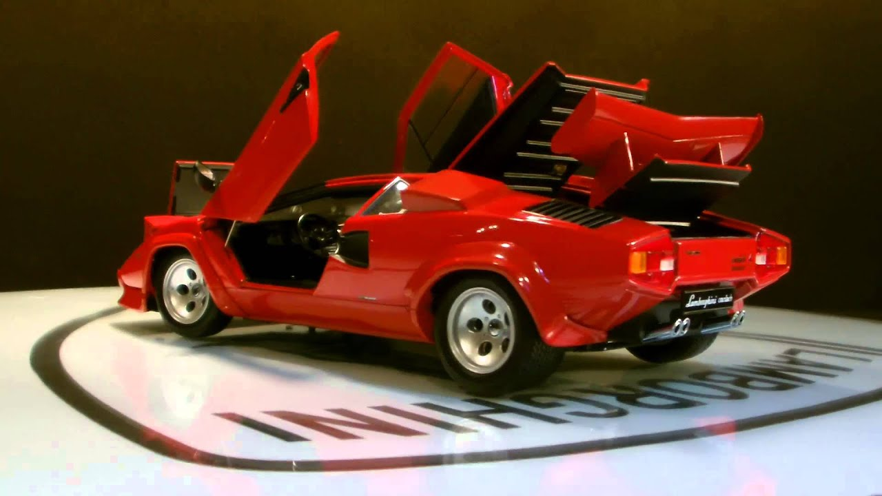 Lamborghini Countach Lp500 Red Kyosho Youtube