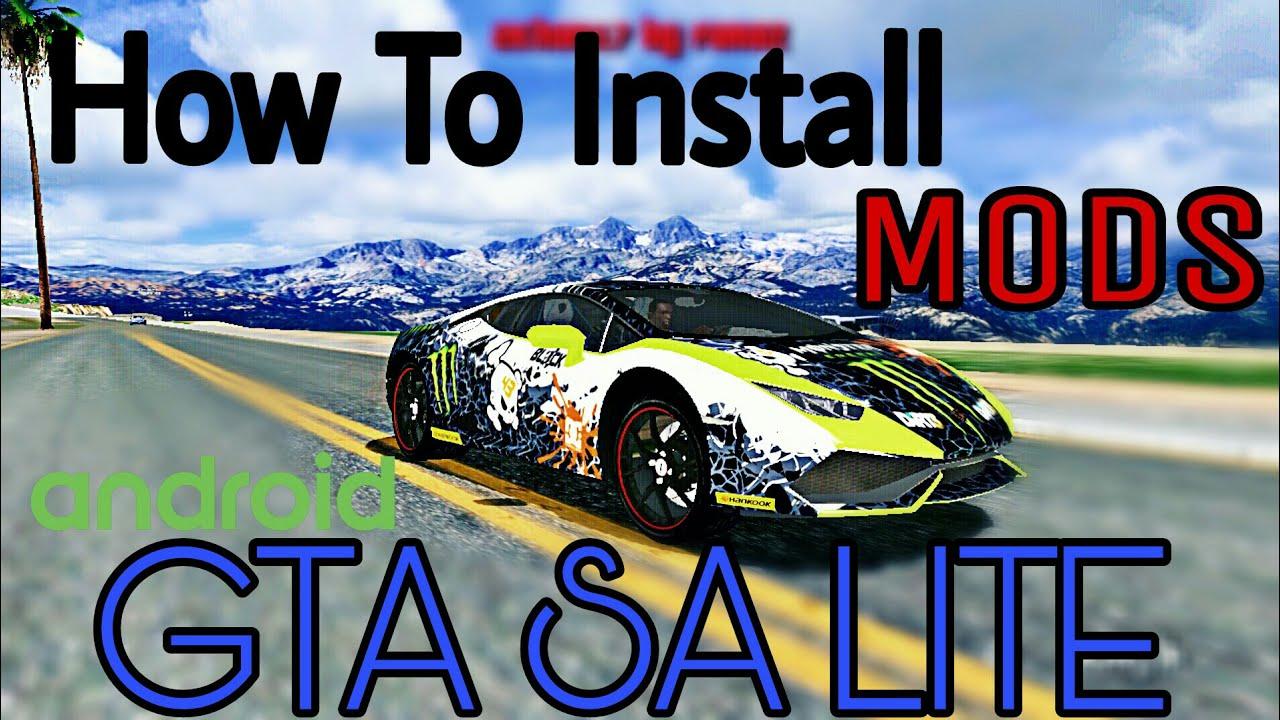 How to Install Mods in GTA SA Lite (Hindi)
