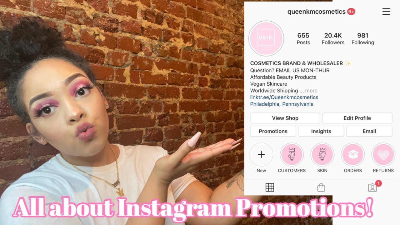 INSTAGRAM PROMOTIONS DO THEY WORK?HOW TO GROW YOUR BUSINESS INSTAGRAM!LIFE OF A ENTREPRENEUR!