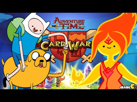 Card Wars: Adventure Time - Finn Fries Marcy's ... - YouTube