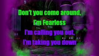 Olivia Holt - Fearless | Karaoke Sing-Along