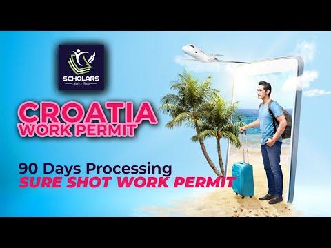 Croatia Work Permit | Croatia Work Permit Visa for Bangladeshi | Croatia Work Visa 2021