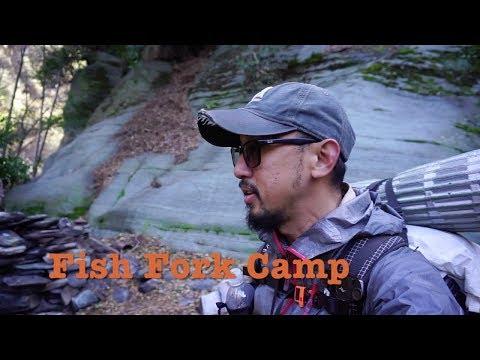 Fish Fork Trail Camp  |  East Fork River  |  San Gabriel Mountains