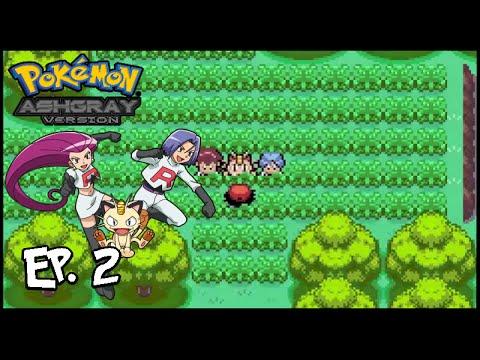 Let's Play: Pokemon Ash Gray Version EP.2 ''Team Rocket ...