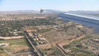 Flight Burbank BUR - Las Vegas LAS; Airbus A320; JetBlue; N615JB; 13.06.2012