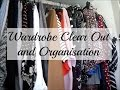 Wardrobe Clear Out and Organisation | AshleyJayneCookie
