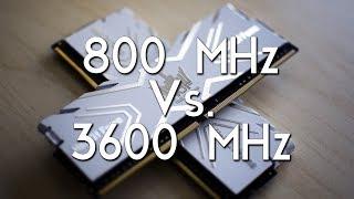 QUELLE FRÉQUENCE DE RAM DDR4 CHOISIR ?? - Test Jeux et Encodage - Kit KFA2 Hall of Fame [Review]
