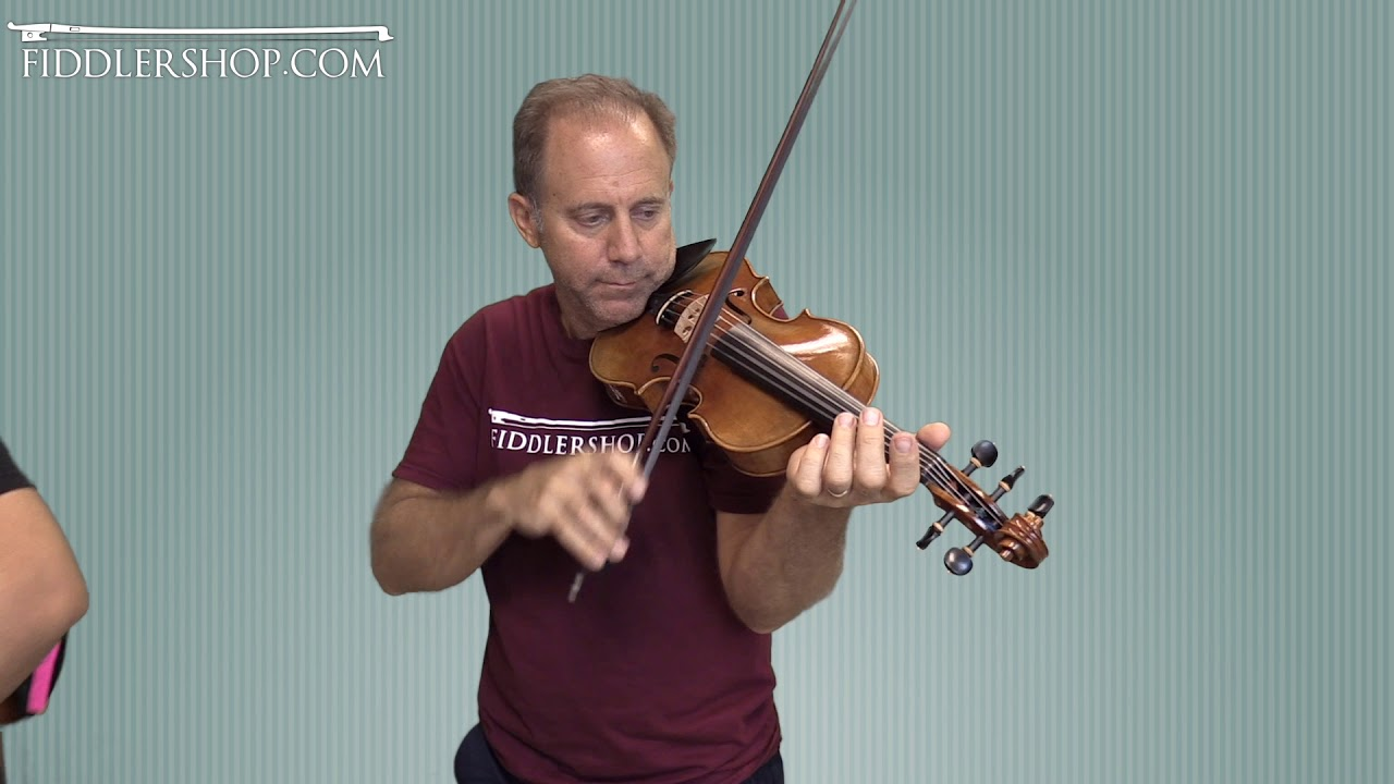 Realist and Fiddlerman 5 string Violin for Richard