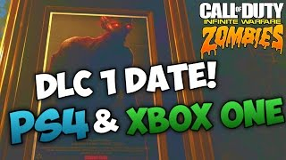 INFINITE WARFARE ZOMBIES DLC 1 RELEASE DATE PS4 & XBOX ONE! - IW Zombies DLC 1 New Map Info