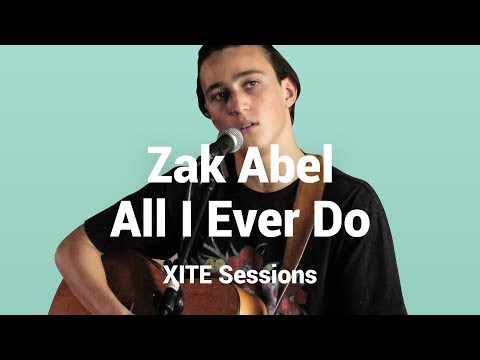 Zak Abel - All I Ever Do Is Say Goodbye | Zak Abel Live at XITE HQ #3