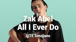 Zak Abel - All I Ever Do Is Say Goodbye | Live @ XITE Sessions