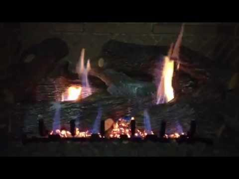 Super Sassafras Gas Logs Shown In A Select Firebox With