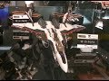 Macross VFs at 魂ネイションズ AKIBAショールーム YF-30, YF-29, VF-27, VF-25, VF-1