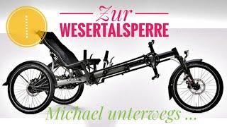 Trike Liegerad 🔴 Tour mit dem Kettwiesel zur Wesertalsperre in Eupen / Belgien 🔴 'Hase Bikes' Video