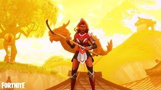 Fortnite Battle Royale BECOME A HERO!!! - Fortnite Battle Royale Season 4 Skin