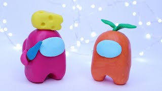 How To Make Among Us Fondant Cake Toppers Tutorial