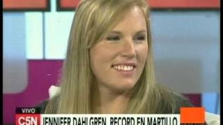 C5N - Deporte: Entrevista a Jennifer Dahlgren