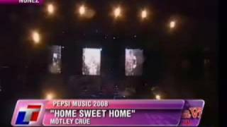 Motley Crue Home Sweet Home Live Pepsi Music Rock  Argentina 2008
