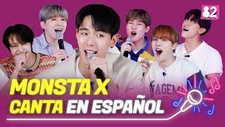Kpop Idols cantan en españolㅣMONSTA X  Fantasia