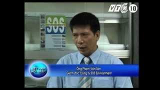 Vải lọc dầu SOS-1 trên kênh VTC10 - SOS Môi Trường