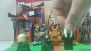 Огляд набору легоNINJAGO 70651 вирішальний бій в тронному залі Lego #picpac #lego