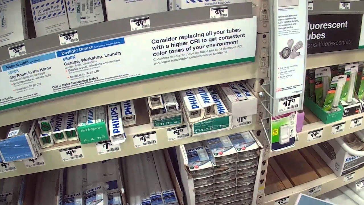 Shopping Inside Home Depot - Fort Myers, Florida - YouTube