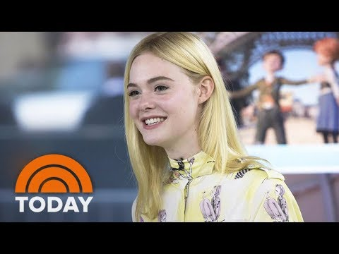 Actress Elle Fanning Talks About 'Leap!' And Adorable Childhood Clip With Dakota | TODAY