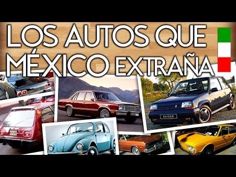 Los Autos que Más se Extrañan en México