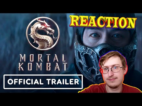 Mortal Kombat (2021) - Official Red Band Trailer | RUSSIAN REACTION