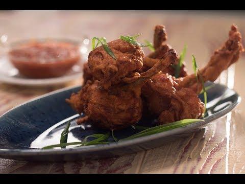 Chicken Lollipop | 10 Best Indo-Chinese Recipes | Chef Anupa | Sanjeev Kapoor Khazana