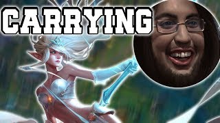PLAYING WITH IMAQTPIE! - JANNA SUPPORT COMMENTARY GUIDE - League of Legends [Season 7]