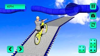 Bike Racing Games - Extreme Imposible BMX - Gameplay Android free games