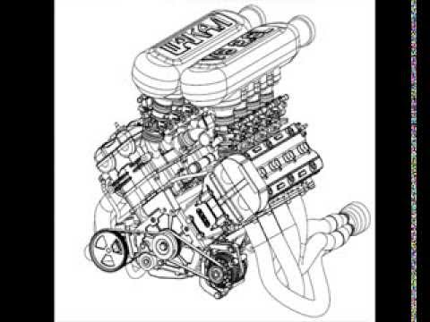 Hayabusa V8 engine - YouTube