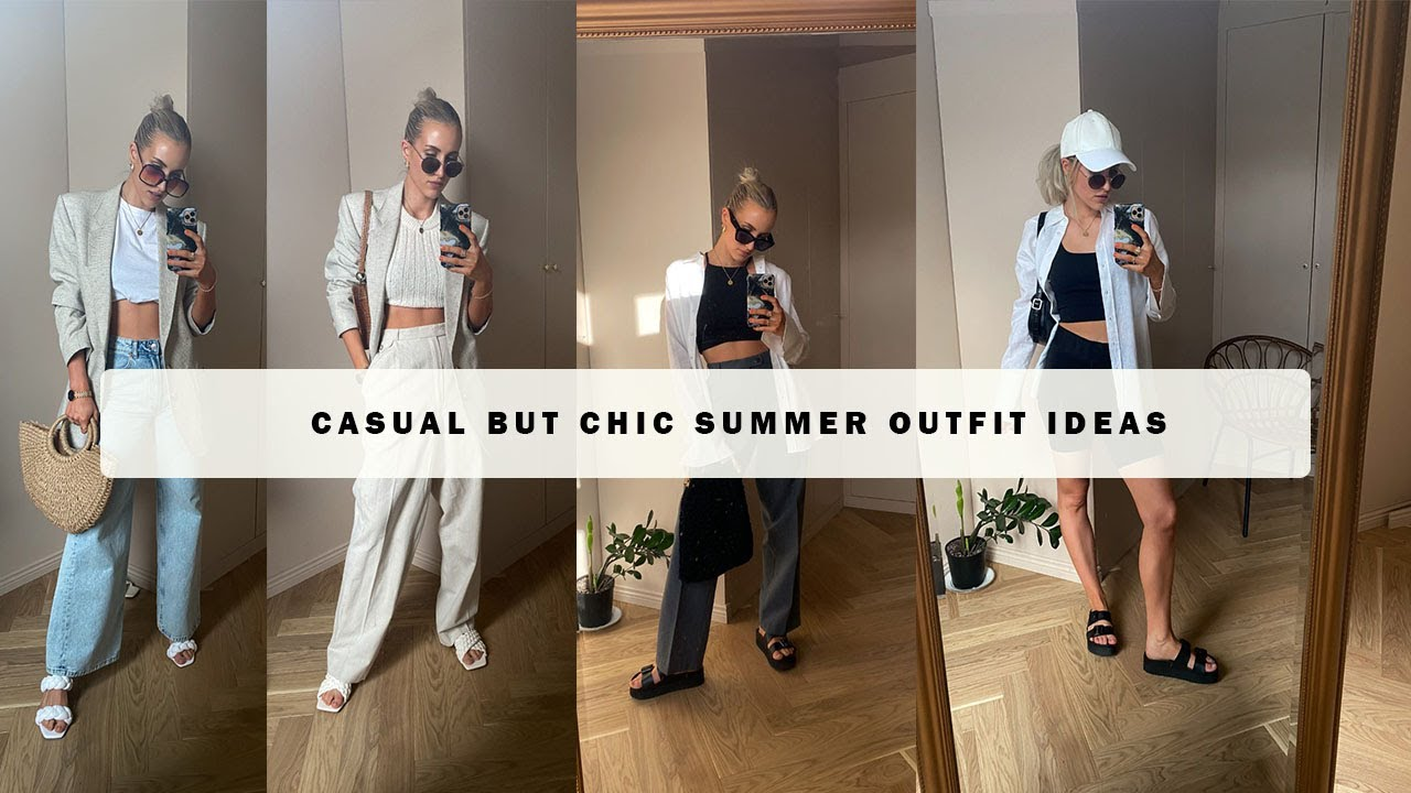 Casual but chic Summer outfit ideas 2021 [Scandinavian Style] SandraEmilia