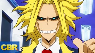 What Nobody Realized About All Might In My Hero Academia