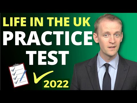 Life In The UK Test 🔔Practice Test (2020) ✅️