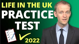 Life in the UK Test 🔔Practice Test (2018) ✅️